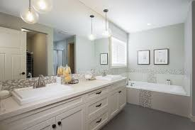remarkable pendant with additional pendant light in bathroom