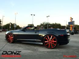 lexus coupe on 24s chevy camaro donz forged palermo 24