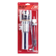 ace 4in sink pop up assembly pop ups u0026 accessories ace hardware