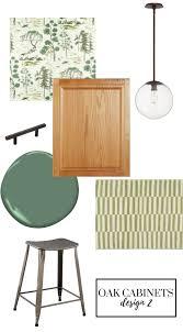 oak cabinets in kitchen decorating ideas updating oak kitchen cabinets with fresh decor emily a clark