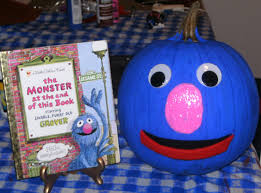 Grover Halloween Costume Grover Pumpkin Today Halloween