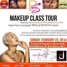 makeup artist classes chicago atlanta makeup artist mimi j online beat snatched makeup class