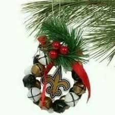 new orleans saints ornament wreath go saints all things