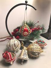 handmade christmas ornaments ebay