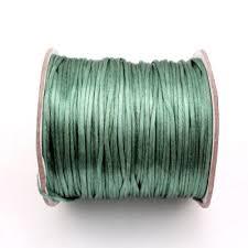 rattail cord 1 5mm satin rattail cord thread knot puple 80yard spool