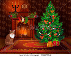 christmas new year decoration elements christmas stock vector