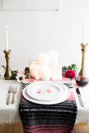Valentine S Day Dining Decor by A Bohemian Tablescape For Valentine U0027s Day Advice From A Twenty