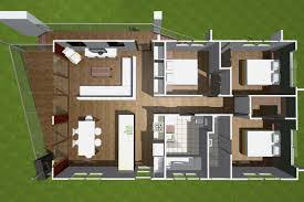 Three Bedroom House Interior Designs Small House Plans With Open Floor Plan For Efficient Space Use