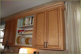 how to add crown molding to kitchen cabinets kitchen cabinet molding bottom home design ideas