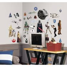 star wars themed bedroom ideas wall art kids