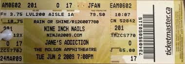nine inch nails live archive nin june 02 2009 toronto ontario