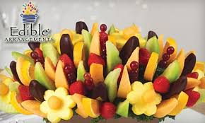 edible fruit bouquet delivery half from edible arrangements edible arrangements groupon