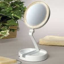 floxite 7504 12l 1x 12x lighted makeup mirror the mine