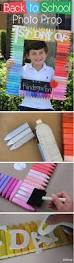 diy back to photo prop photos summer crafts and
