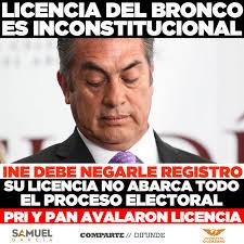 Bronco Meme - samuel garcía licencia del bronco es inconstitucional facebook