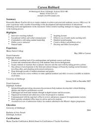 master resume template master cv exle for education livecareer