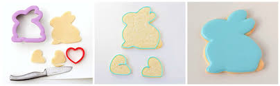rabbit cookies colorful 3d easter bunny cookies glorious treats