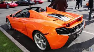 orange mclaren rear new mclaren 650s spider vs mclaren mp4 12c spider comparison