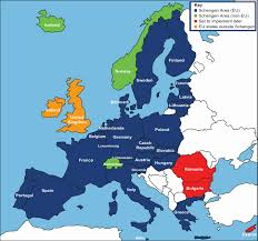 France On A Map by How To Travel In Europe On A Schengen Visa Blueskytraveler Com