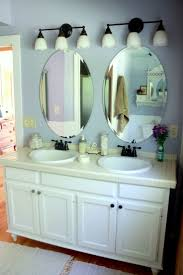 Mirrors Bathroom Best 25 Oval Bathroom Mirror Ideas On Pinterest Half Bath