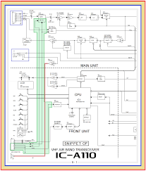 hard wiring david clark headset station to icom a110 radio