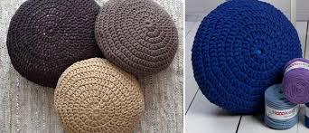 Crochet Ottoman Crochet A Chic Ottoman
