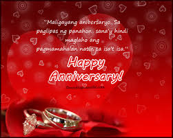 Happy Anniversary Messages And Wishes Tagalog Happy Anniversary Messages And Wishes Wordings And Messages
