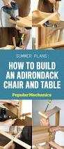 Tall Deck Chairs And Table by Best 25 Adirondack Chairs Ideas On Pinterest Adirondack Chair