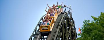 thrill rides knoebels free admission amusement park in central