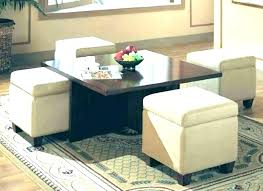 Living Room Table With Storage Storage Ottoman Set Storage Ottoman Set Coffee Table Storage