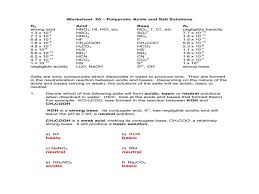 worksheet 20 u2013 polyprotic acids and salt solutions u2013 guillermotull com