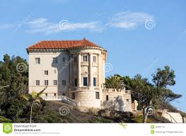 modern mansion modern mansion in malibu california stock photo image 28480710