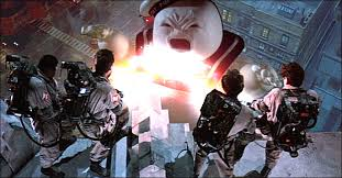 Stay Puft Marshmallow Man Meme - marshmallow man reacts to ghostbusters trailer ghostbusters