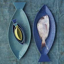 ceramic fish platter peces pinteres