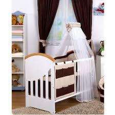 chambre bebe bebe9 linge de lit bébé 9 pcs ciel flèche de lit bébé beige beige marron