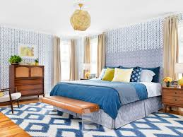 Bedroom Before And After Makeover - from bland to bold before and after bedroom makeover hgtv