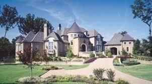 house plans with turrets photo tour larry e belk designs the la porte ouverte house plan