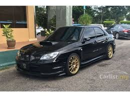 black subaru subaru impreza 2007 wrx 2 0 in kelantan manual sedan black for rm