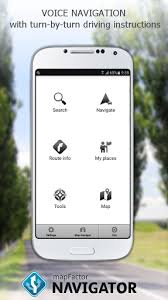 gps navigation apk mapfactor gps navigation maps apk for android