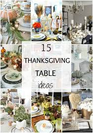 15 gorgeous thanksgiving tables a blissful nest
