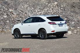 lexus rx 350 for sale nsw 2012 lexus rx 450h f sport review performancedrive