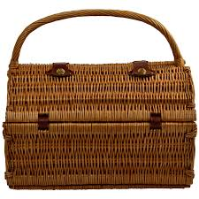 picnic basket set for 2 at ascot sussex willow picnic basket with service for 2 coffee