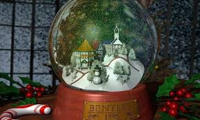 christmas snow globe wallpapers hd