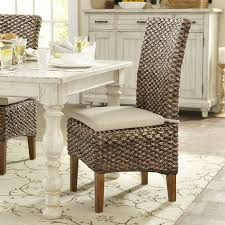 rattan kitchen furniture wicker rattan kitchen dining chairs you ll wayfair