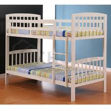 Double Decker Bed by Wooden Double Decker Bed