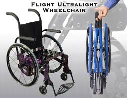 ultra light wheelchairs used designed with aerospace technology and algor fea innovative