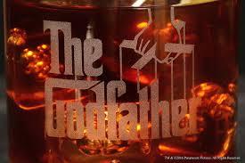 amazon com movies on glass personalized godfather movie
