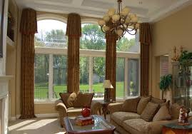 wonderful lime green and beige leaf two piece window treatment