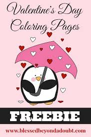 free valentine u0027s coloring pages ages blessed
