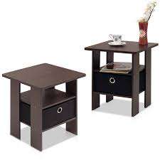 walmart end tables and coffee tables walmart black end tables ameriwood home carson table with storage